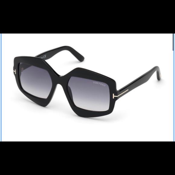 Tom Ford Tate FT0789 01B Gradient Sunglasses—NWT
